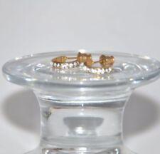 Gelbgold beschichteter Mode-Ohrschmuck im Ohrstecker-Stil mit Misch-Metalle