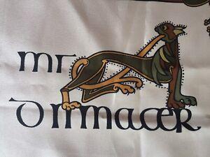Inspired by the Book of Kells Irish Gaelic Ireland Head Neck Scarf 26x26