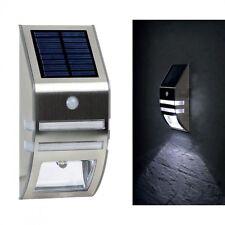 LED Außenlampe Solarlampe Wegeleuchte Wandlampe Gartenlampe Solarleuchte Solar