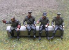 MGM 100-03 1/72 Resin WWI German Driver and Passengers-Four Seated Full Figures