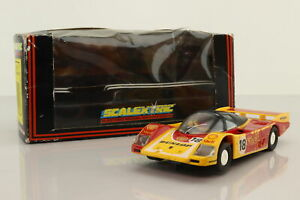 Scalextric C.463; Porsche 962; 1988 Le Mans DNF; Wolleck; RN18; Good Boxed