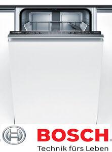 Spülmaschine 45cm Bosch Einbau Geschirrspüler Vollintegrierbar NEU Home Connect