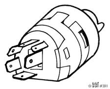 VW Beetle 1971-1974 Ignition Switch