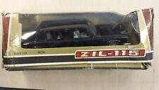 Zil 115 Limousine Nero Metal Model 1/43 URSS Rare Vintage Model Car