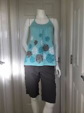 WOMENS MOUNTAIN LIFE AND TRESPASS SHORT & HALTER NECK NECK T BUNDLE SIZE 8/10