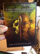 BONES, STONES, AND GENES The Origins Of Modern Humans DVD New & Sealed