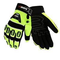 Motorrad Handschuhe, MTB MX Motocross Enduri schwarz, Biker MX Handschuhe Neu