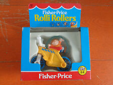 FISHER PRICE ROLLI ROLLERS MOTO BMX 1989 NUOVO VINTAGE