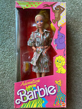 NEW NRFB Adventure Lovin' Barbie #6439 Richwell Philippines foreign import 1990