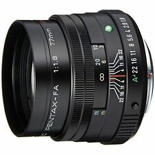 PENTAX Telephoto Single Focus Lens FA77mm F1.8 Limited Black K mount New