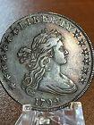 1799 Draped Bust Silver Dollar (Heraldic Eagle Rev) EF /AU Beautiful Toning!