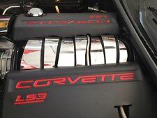 Corvette C6 LS3 2008-2013 Polished 7 Pc INTAKE PLENUM COVER engine chrome
