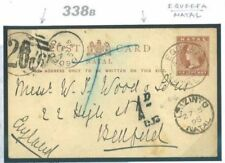 Victorian (1840-1901) Postal Card, Stationery South Africa Stamps (Pre-1961)