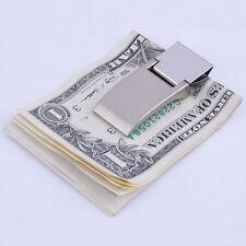 Money Clip Metal Note  Wallet Large Bills Men's Fashion Travel Accessory w5v PL