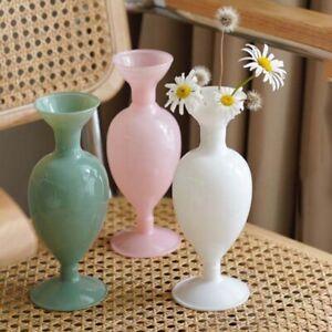 New Flower Vase Desktop Home Decor Classic Glass Plant Holder Container Modern
