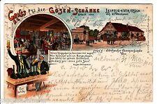 Gruss aus der Gosen-Schänke AK 1901 Leipzig Eutritzsch Litho Sachsen 1511901
