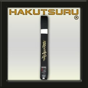 Karate Master Belt Kyokushin - Black Sensei - Hakutsuru Equipment