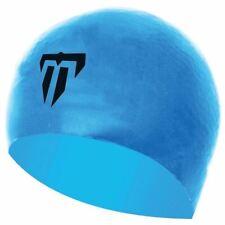 Aqua Sphere Phelps Silicone Swimming Hat - Race Cap -  Blue/Black