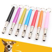 Adjustable Sound Dog Puppy Pet Training Whistle Silent Ultrasonic Key Chain Tool