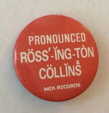 Vintage 1980 ROSSINGTON COLLINS BAND promo pin MCA button badge LYNYRD SKYNYRD