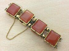 Agate Bracelet 1820 Antique Georgian Gilt &