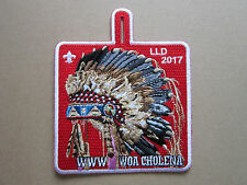 WWW Woa Cholena LLD 2017 BSA Cloth Patch Badge Boy Scouts Scouting (L2K)