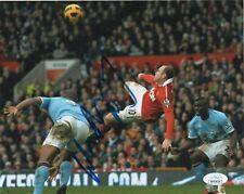 Manchester United Wayne Rooney Autographed Signed 8x10 EPL Photo JSA COA #4