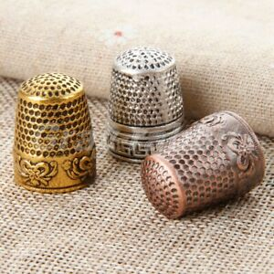 Sewing Thimble Sewing Tools Needles Partner Finger Protector Multicolour