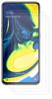 3x Premium Matt Display Schutz Folie Folien für Samsung Galaxy A80 (A805F)