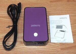 **REPLACEMENT** Genuine Jamberry Purple & Black Block Mini Heater & Power Supply