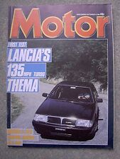 Motor (14 Sep 1985) Lancia Thema ie Turbo, Honda Accord, Prelude,2CV, Italian GP