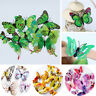 12Pcs 3D Butterfly Wall Stickers PVC Decal Home Room Mural Decoration Supplies