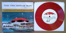 HARTFORD SYMPHONY ORCH - TRIUMPH OF MAN / 1964-65 WORLDS FAIR - RED VINYL 33 1/3