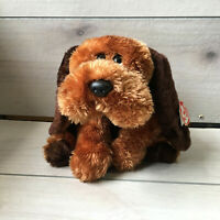 "A98 Ty Classics Memphis Hound Dog Plush 13"" Lovey Stuffed Toy"