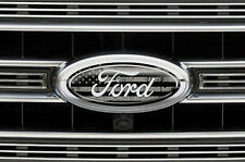 Ford Oval Logo Decal Set for F150 F-150 3pk Sticker Overlay 2015,2016,2017 SUBDU