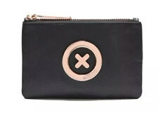 MIMCO Black Small Pouch Leather Supernatural Wallet Purse Clutch BNWT Authentic