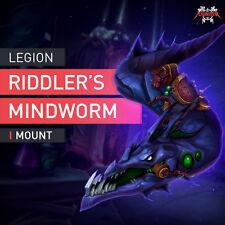 WoW Legion Mount Gedankenwurm des Ratselmeisters / Riddler's Mind-Worm Reittier