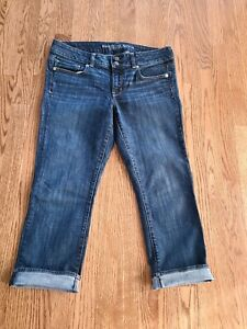 American Eagle Outfitters Artist Crop stretch women's size 10 Capri Jeans