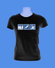 Girlie Damen Shirt Tattoo Griffstück Maschine Farbflasche move2be schwarz S