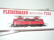 FLEISCHMANN N - 7347 Elektrolokomotive Baureihe 111 036-0 DB Verkehrsrot - X307X