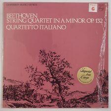BEETHOVEN: String Quartet in A Minor PHILIPS Dutch QUARTETTO ITALIANO NM LP