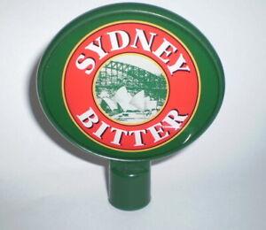 Australian beer tap top - Sydney Bitter    FREE POST AUSTRALIA