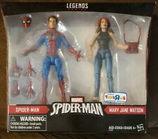 Marvel Legends Spider-Man and Mary Jane 2-pack Toys R Us exclusive!!