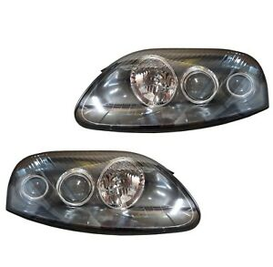 For Toyota Supra 3.0L Pair Set of Left and Right Headlight Black Housing Genuine