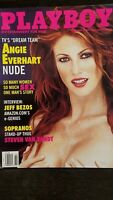 Vintage February 2000 Playboy issue w./supermodel Angie Everhart pictorial! NM++