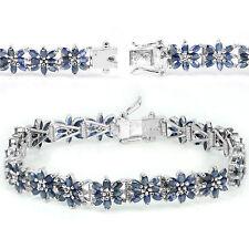 Heating Natural Sapphire Fine Bracelets
