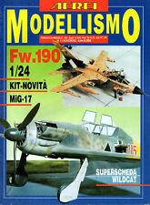 Rivista AEREI MODELLISMO n° 11 Novembre 1992