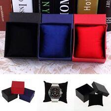 Delicate Paper Cardboard Bangle Bracelet Wrist Watch Jewelry Present Gift Box