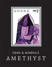 Ghana - Gems and Minerals Stamp- Souvenir Sheet MNH