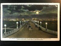 Vintage Postcard>1917>Dallas-Oak Cliff Viaduct>Longest Concrete Bridge>Dallas>TX